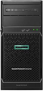 HP ProLiant ML30 Gen10 Tower Server, Intel Xeon E-2124 Quad-Core 3.3GHz 8MB, 32GB DDR4 RAM, 8TB Storage, RAID, iLO 5