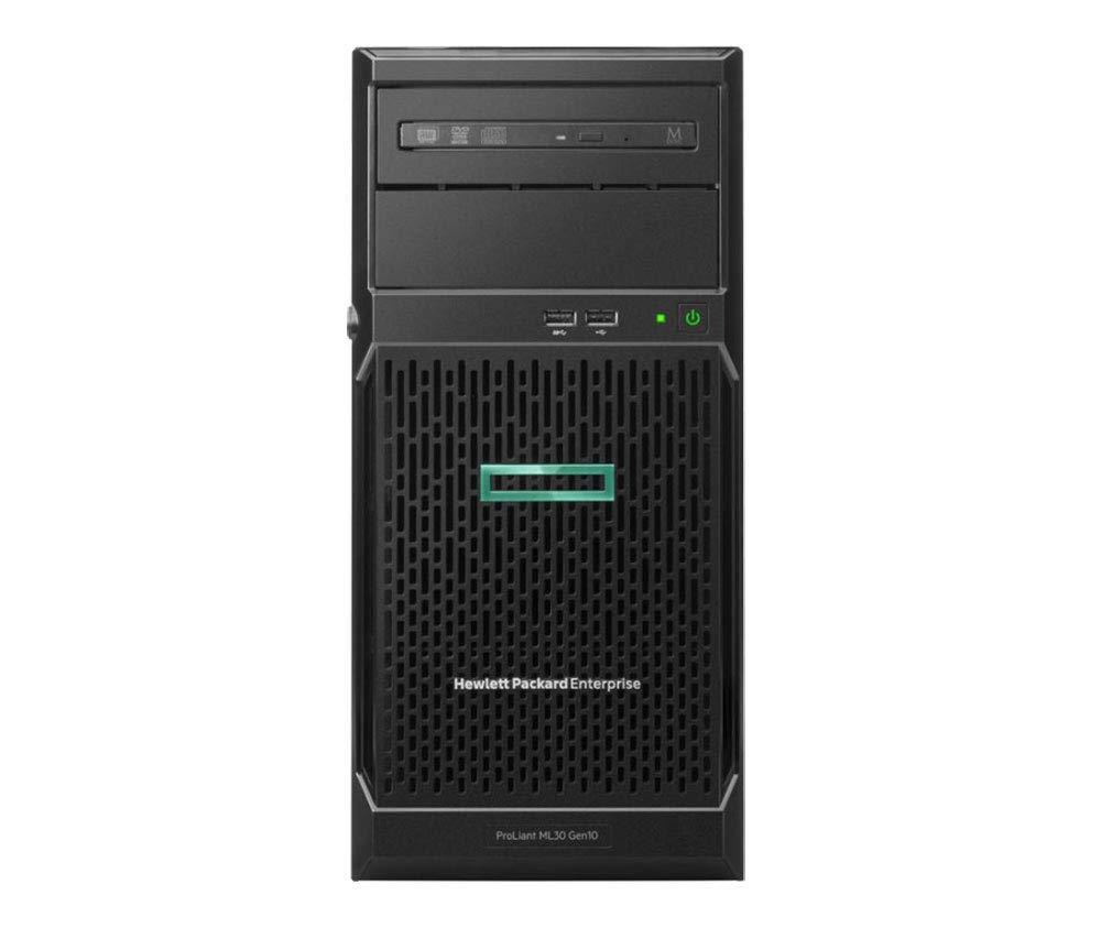 HP ProLiant ML30 Gen10 Tower Server, Intel Xeon E-2124 Quad-Core 3.3GHz 8MB, 32GB DDR4 RAM, 8TB Storage, RAID, iLO 5, 3 Years Warranty by HP