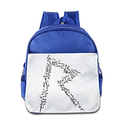 XJBD Custom Superb Rihanna Kids School Backpack For 1-6 Years Old RoyalBlue