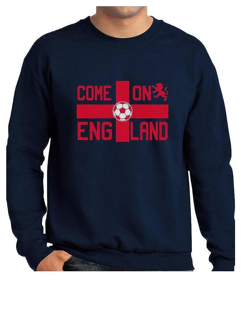 9401fbe65 Navy Tstars - Come On England UK UK UK Soccer Ball Flag Soccer Fans  Sweatshirt 299973