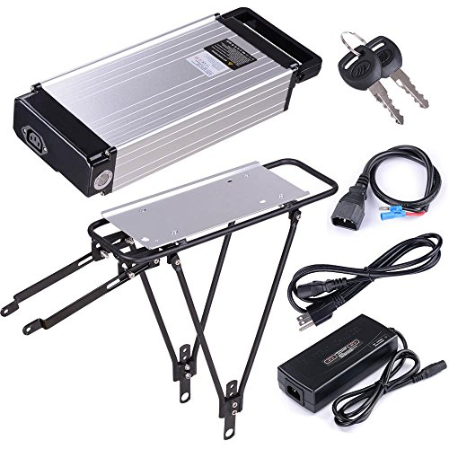 MegaBrand 36v 14ah Electric Bicycle Battery Rack Li-Ion Lithium Polymer