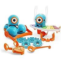 Makewonder Makewonder-WC01 Pack D Accessoires pour Robot Dash, WC01xx, Bleu, Orange