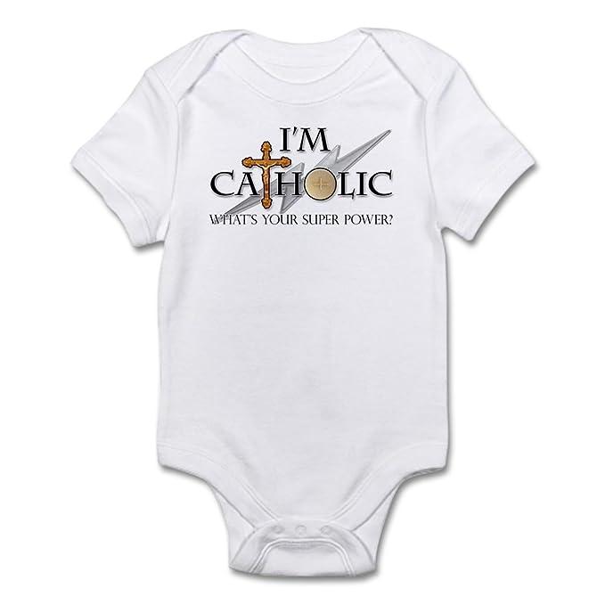 Amazon.com: CafePress – Católica Body – Traje lindo infantil ...