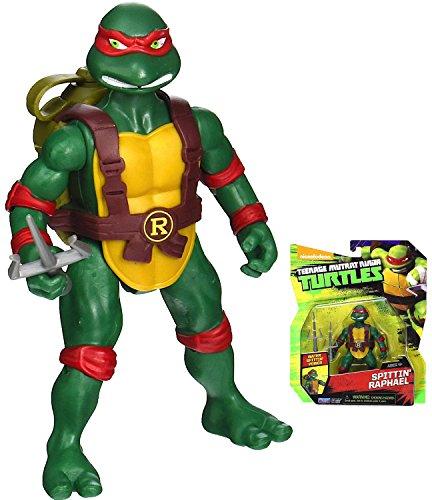 "Water Spittin' Power Raphael Turtle Action Figure 4.5"""