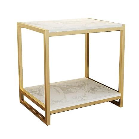 Amazon.com: Bseack - Mesa de café pequeña, mesa auxiliar ...