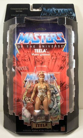 Masters of the Universe - Teela Figure - Commemorative Series - Limited Edition - 1 of 10,000 - Mattel - RARE - Collectible - -
