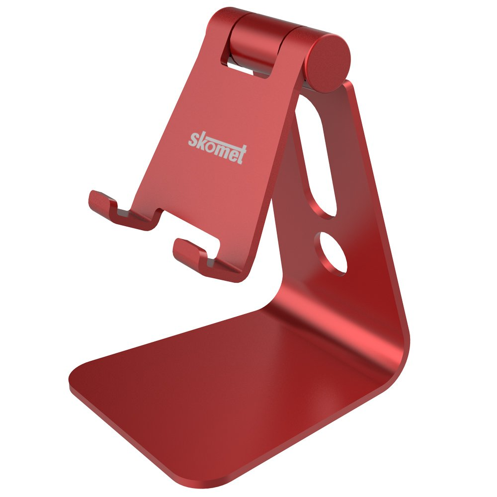 Skomet aluminum adjustable multi-angle cell phone stand, holder, dock - for  iPhone