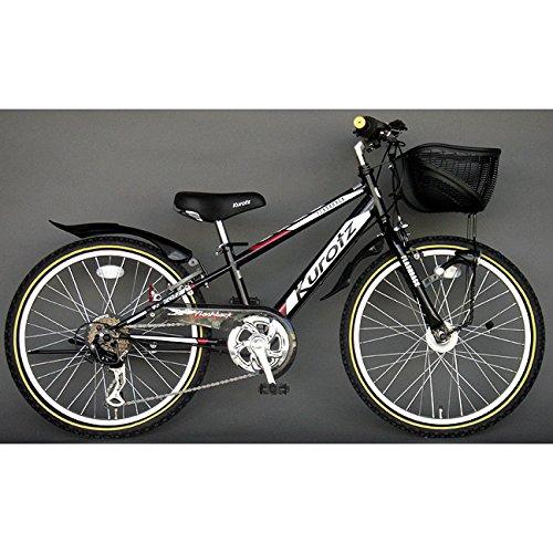 クロッツ Kurotz 子供用自転車 フラッシュバックSTD FBR226STD ジェットブラック B00ADFTT2M
