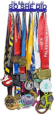 Mini Medal Holder Display Hanger Rack Frame - Sturdy Wall Mount Medals Easy to Install