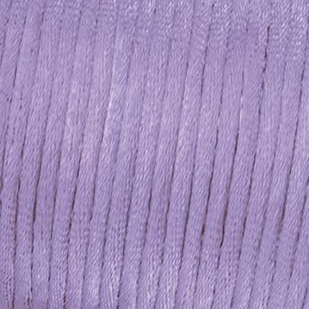 Kumihimo 1/mm x 6/m Cordon Tissage Satin Rouge