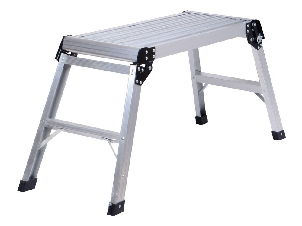 Galleon 20 Inch High Aluminum Platform Folding Work Bench Drywell