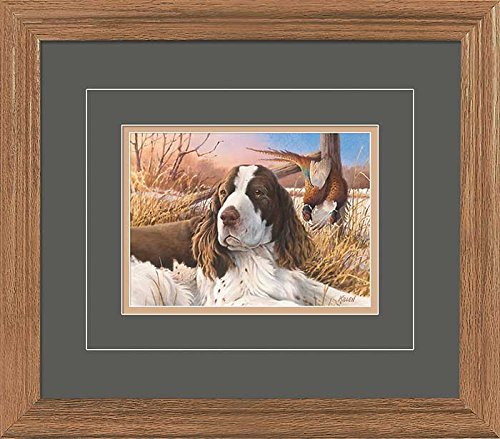 A Proud Day - Springer Spaniel GNA Deluxe Framed Print by Jim Killen