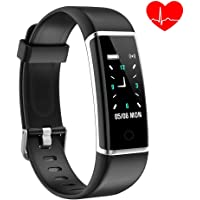 YoYoFit Pure Kids Fitness Tracker with Heart Rate Monitor, Smart GPS Running Activity Tracker Pedometer Step Counter Fitness Watch with Slim Touch Color Screen and Wristband