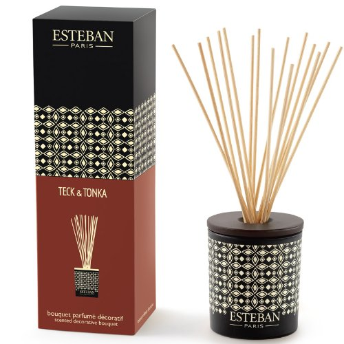 Esteban Teck & Tonka Scented Decorative Bouquet Diffuser 3.3 oz Scented Decorative Bouquet Diffuser