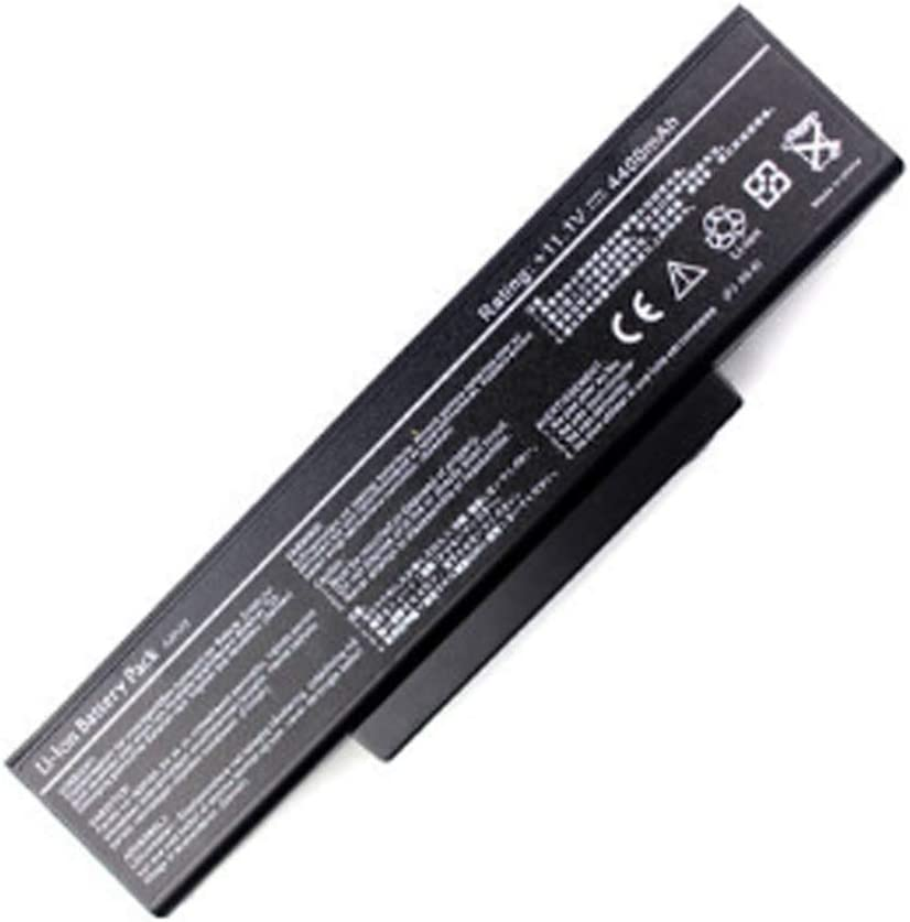 New Battery Compatible for Asus F3Sc F3Se F3Sr F3Sv F3T F3Tc 90-NIA1B1000 Battery Replacement 6 Cell 4400mAh