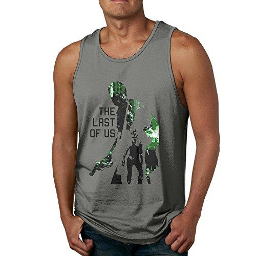 [NCKG The Last Of Us Men's Loose Vest Size S DeepHeather] (Dwayne Johnson Baby Costume)