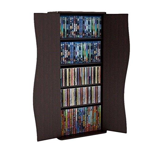 Atlantic Venus Media Storage Cabinet - Stylish Multimedia St