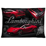 "Automotive : 20x30 20""x30"" 50x76cm bedroom pillow shells cases Cotton & Polyester pillowcases prints Lamborghini"