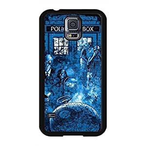 Custom Unique Style Doctor Who Samsung Galaxy S5 Case,Doctor Who Phone Case Black Hard Plastic Case Cover For Samsung Galaxy S5