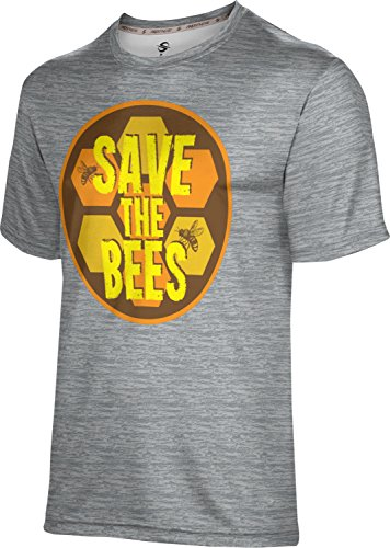 ProSphere Men's Save the Bees Causes Brushed Shirt (Apparel) - Save Bees Donation The