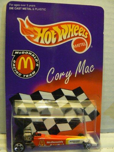 Hot Wheels McDonald's Racing Team Cory Mac Dragster Mcdonalds Racing