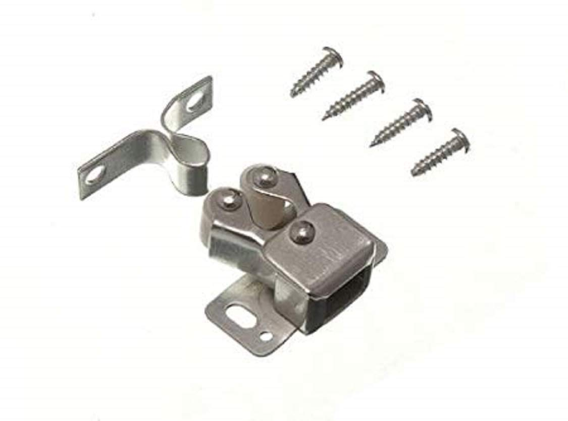 à double rouleau de capture bzp double armoire loquet avec les vis (pack de 4)