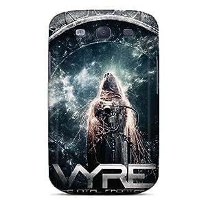 AlissaDubois Samsung Galaxy S3 Best Hard Phone Case Custom HD Metallica Image [Kdg18097KHbX]