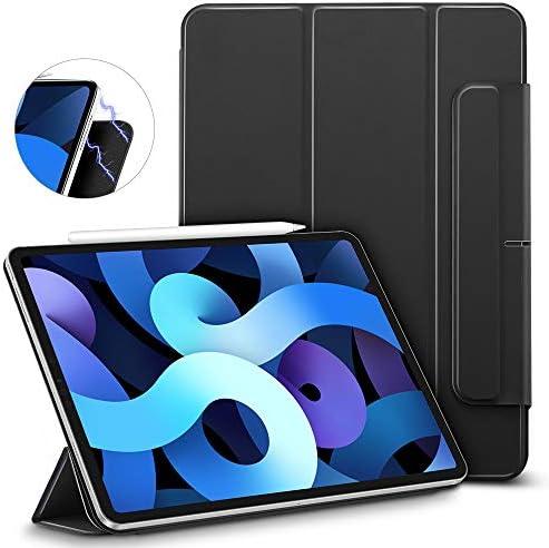 ESR Cover Magnetica Compatibile con iPad Air 4 (2020) 10.9″, [Magnete Potente e rassicurante] [Flip Pieghevole e Intelligente] Serie Rebound- Nero