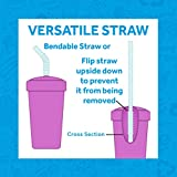 Re-Play Made in USA 4pk Straw Cups with Bendable