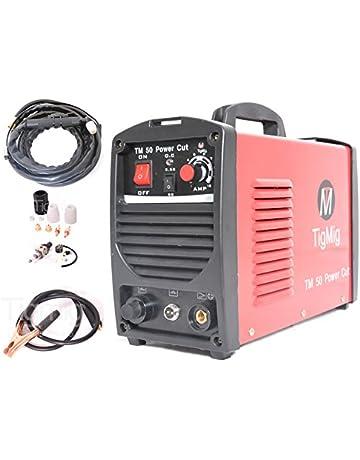 Tigmig TM 50 Cut - Cortadora con chorro de plasma inverter, 40 amp, 10