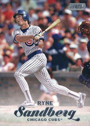 2017 Stadium Club #170 Ryne Sandberg Cubs Baseball - Cubs Stadium Club