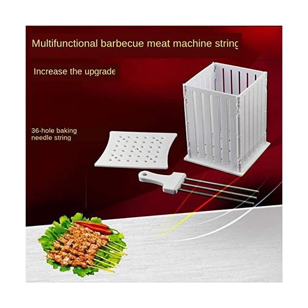 Barbecue Kebab Maker carne brochettes Spiedino macchina Barbecue Accessori Attrezzi accessori for la casa Set di… 3 spesavip