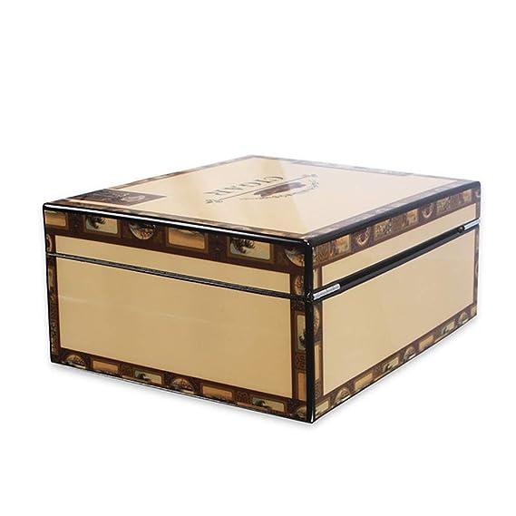 Caja de cigarros pintura de piano, cigarros de madera de ...