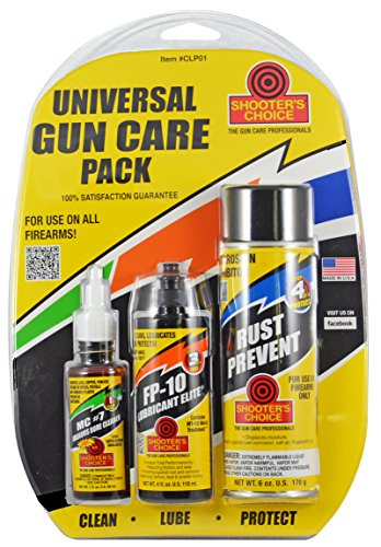 (Shooter's Choice Ventco Inc Universal Gun Care Pack)