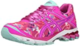 ASICS Women's GT-1000 4 PR Running Shoe, Pink Glow/Hot Pink/Pink Ribbon, 6 M US