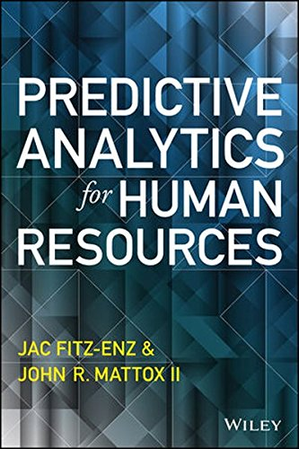 Predictive Analytics For Human Resources  Wiley And Sas Business Series