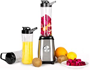 Electric Fruit Mixer,Hand Blender,Immersion Stick Blender with 500Ml Chopping Cup And Stainless Steel Whisk,Variable Speeds with Pulse And Turbo Pre-Sets