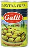 Galil Green Pitted Olive + 20% Extra Value Size, 24-Ounce Cans (Pack of 6) For Sale