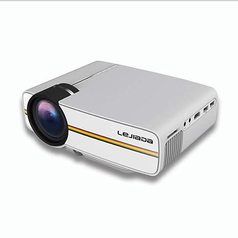 BESTSUGER Proyector de Techo, Mini proyector de Cine en casa, 138 ...