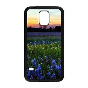 Stylish Sunset,Beach,Sea Design Plastic Case for Samsung Galaxy S5