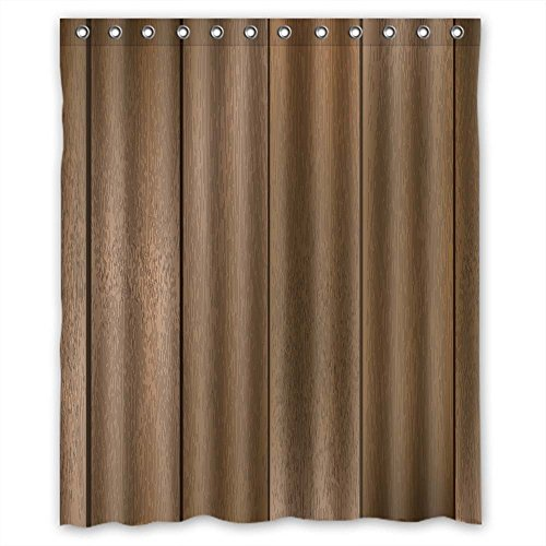 Monadicase Bathroom Curtains Of Wood Polyester Width X