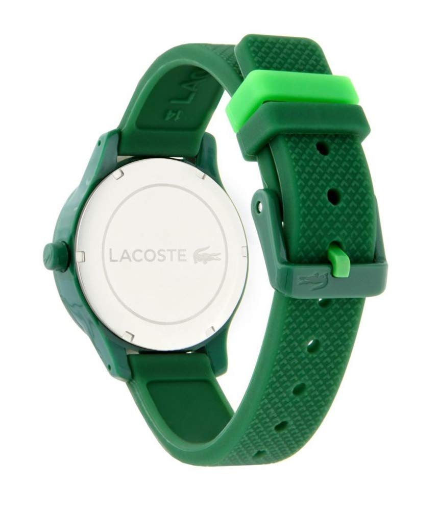 02e59990c Lacoste Dress Watch For Kids Analog Rubber - 2030003: Amazon.ae