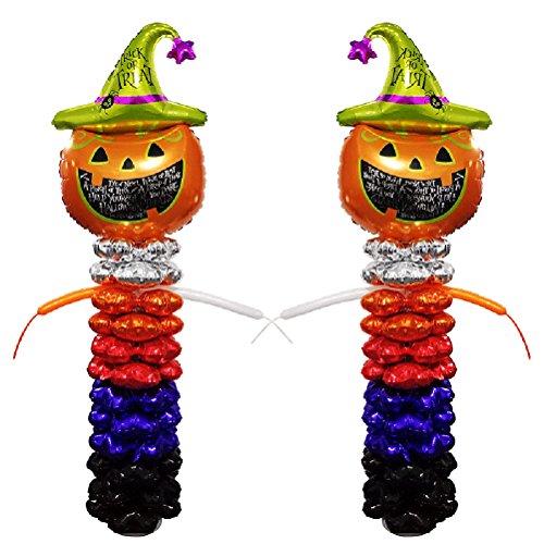 2 Sets Column Balloons Halloween Party Favors Supplies