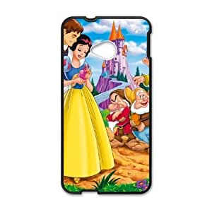 Unique Design Cases HTC One M7 Cell Phone Case Snow White and Seven Dwarfs Uwuqe Printed Cover Protector
