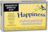 word fridge magnets - Magnetic Poetry - Happiness Kit - Words for Refrigerator - Write Poems and Letters on the Fridge - Made in the USA