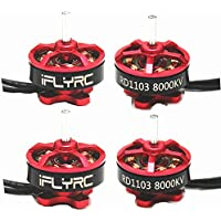 IFLYRC RD1103 8000KV 1-2S Brushless Motor For 50 80 100 Mini Multirotor Frame