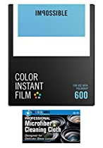 Impossible PRD4514 Color Film for Polaroid 600-Type Cameras - 1 Pack