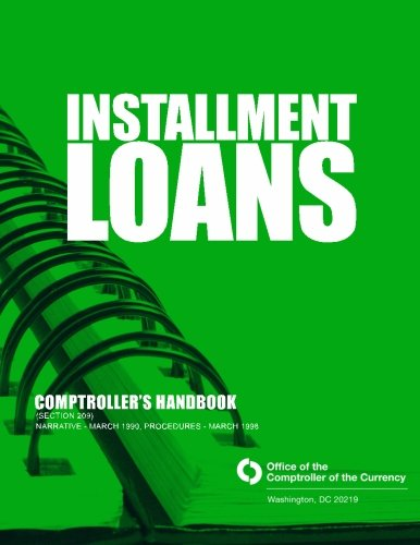 Installment Loans  Comptrollers Handbook  Section 209