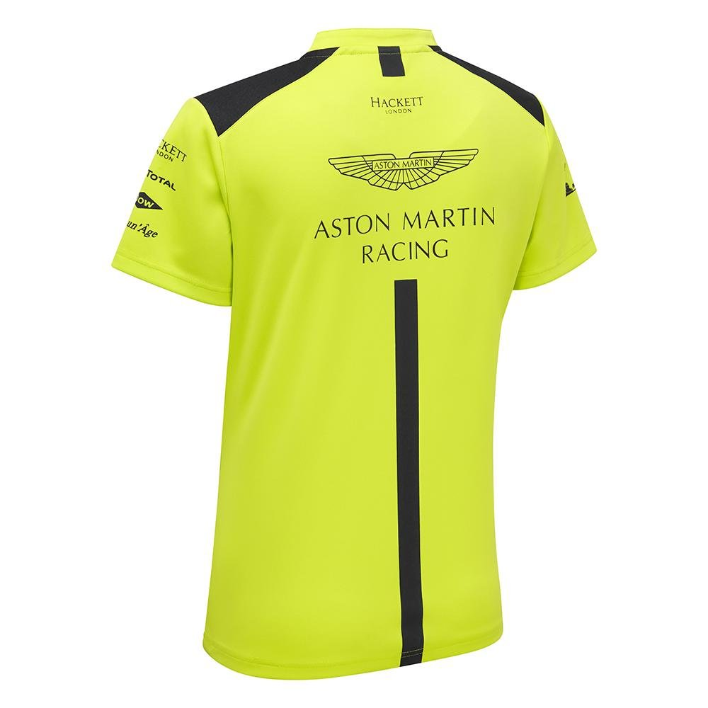 Aston Martin Racing - Polo para mujer, Medium, Verde lima (Lime ...