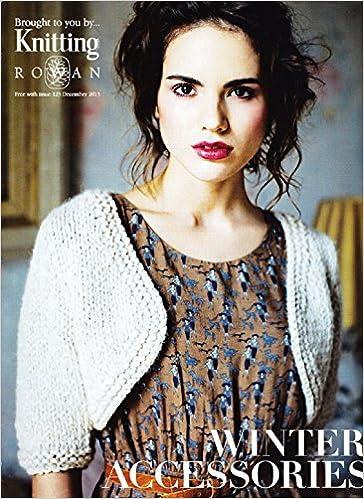 Rowan Knitting Pattern Book Winter Accessories Amazon